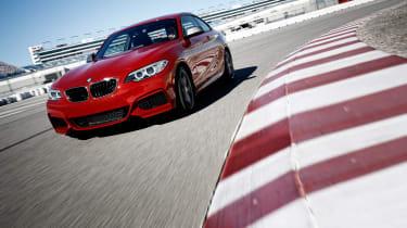 BMW M235i 2014 cornering