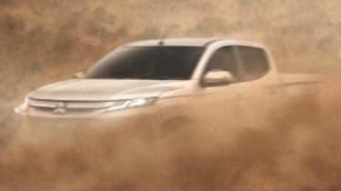Mitsubishi L200 2019 teaser