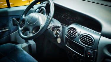 Renault Megane Scenic interior
