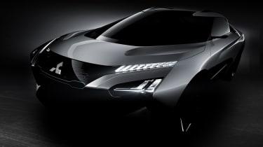 Mitsubishi e-Evolution Concept front