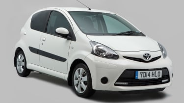 Used Toyota Aygo - front