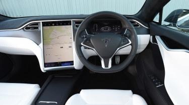 Tesla Model S P100D - dash