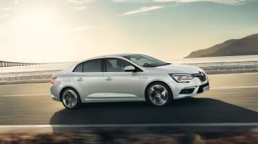New Renault Megane Grand Coupe - side tracking