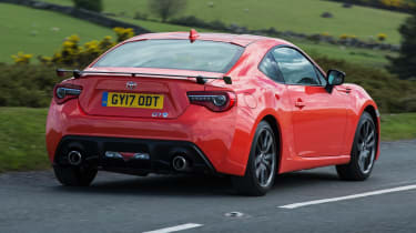 Toyota GT86 Orange Edition - rear