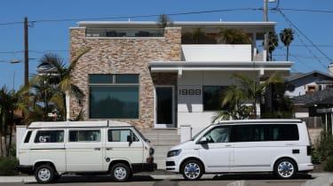 Volkswagen Campervan side profile