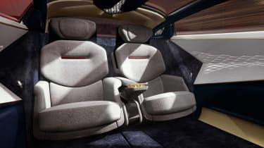 Aston Martin Lagonda Vision concept - rear seats