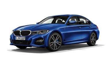 BMW 3 Series - front static blue