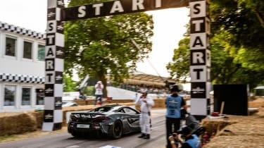 McLaren 600LT - launching