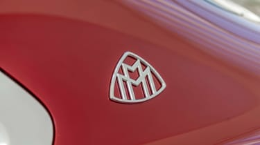 Vision Mercedes-Maybach Ultimate Luxury concept - badge