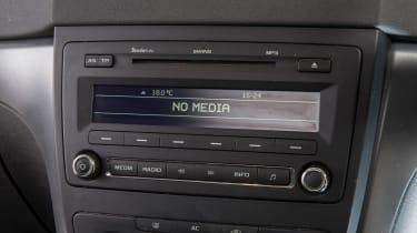 Used Skoda Yeti - radio