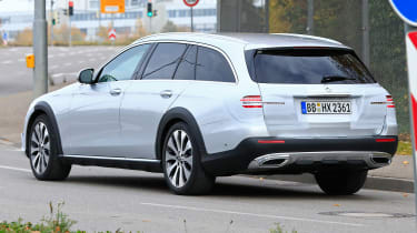 Mercedes E-Class All-Terrain facelift - spyshot 8