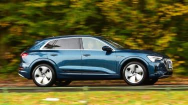 Audi e-tron long termer - final report side