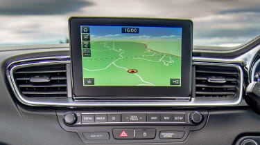 Kia Ceed GT - sat-nav