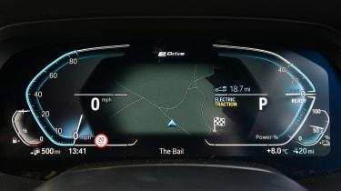 BMW X5 xDrive45e - dials