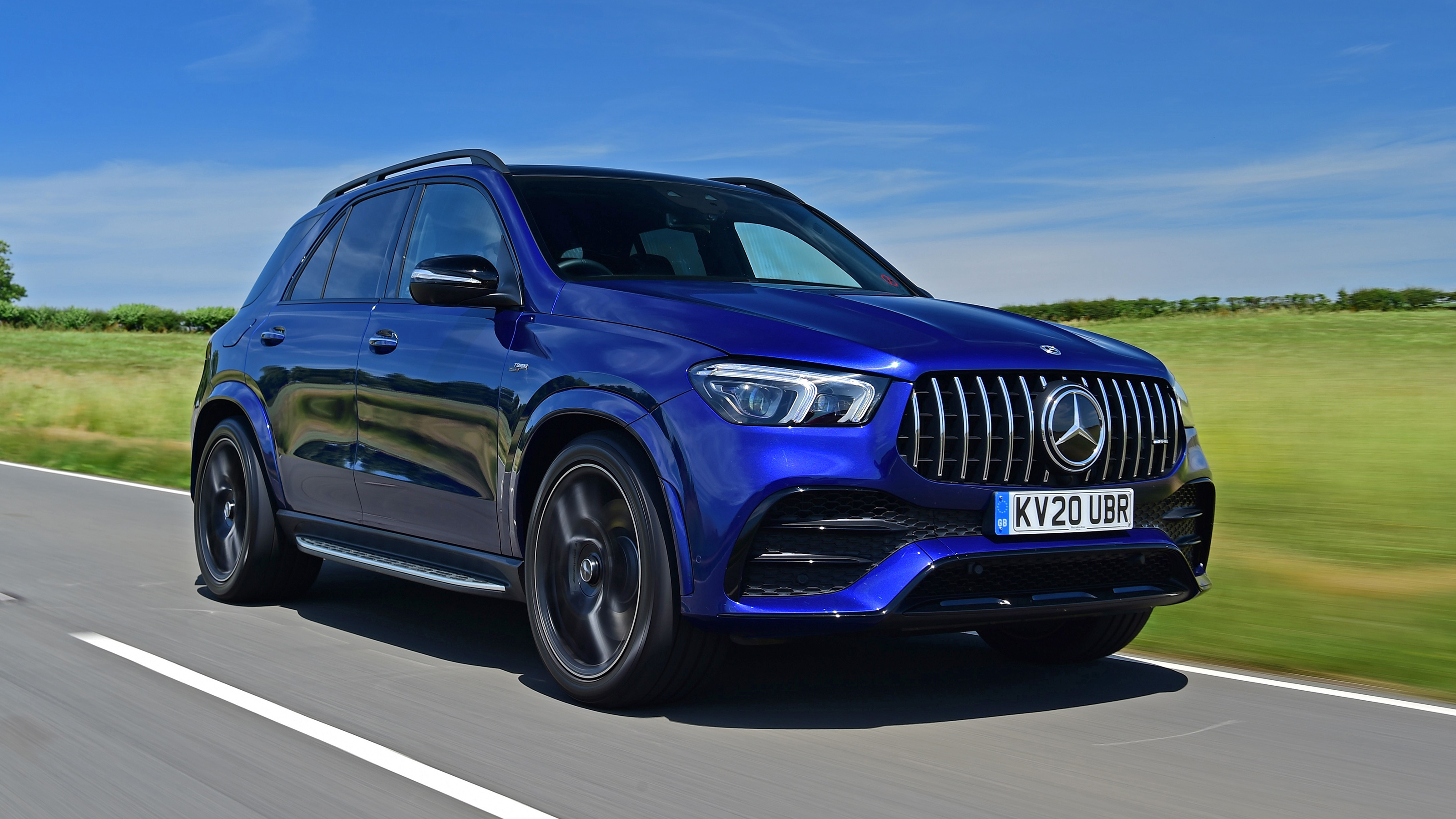 New Mercedes Amg Gle 53 2020 Review Auto Express