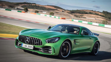 Mercedes-AMG GT R - track front cornering 2