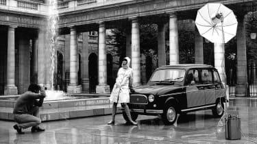 Renault 4 - photoshoot ad