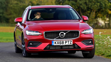 Volvo V60 - long termer first report front