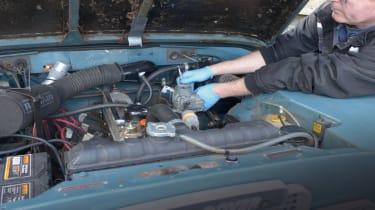 Carburettor rebuild