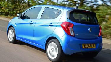 Vauxhall Viva - rear tracking