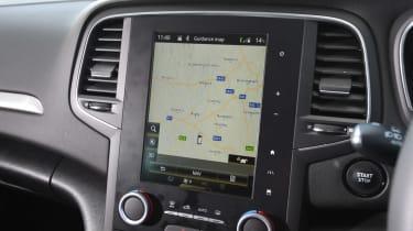 Renault Megane Sport Tourer - sat-nav