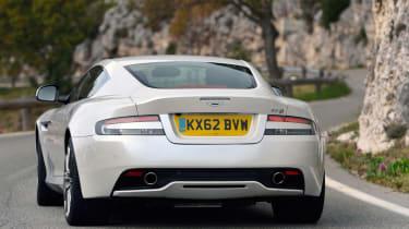 New Aston Martin DB9 rear action