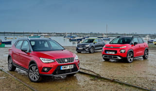 SEAT Arona vs Citroen C3 Aircross vs Kia Stonic - header