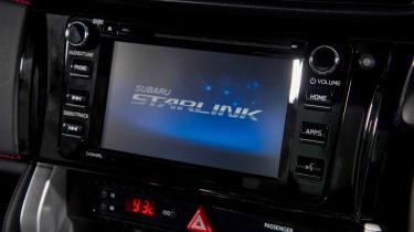 Subaru BRZ - infotainment screen