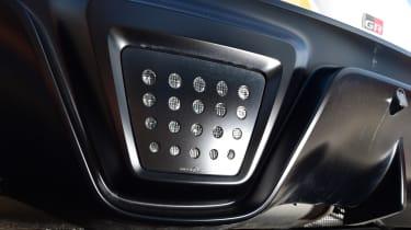 Toyota Supra - diffuser