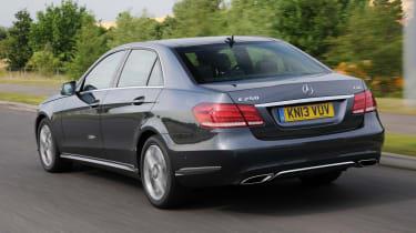 Mercedes E250 CDi rear action