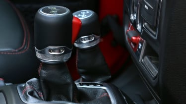 New Jeep Wrangler Rubicon - gear lever