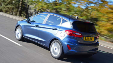 Ford Fiesta - rear tracking