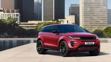 New Range Rover Evoque - red