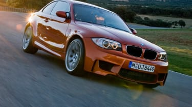 BMW 1 Series M Coupe front tracking