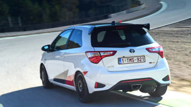 Toyota Yaris GRMN - rear action
