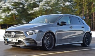 mercedes-amg a35 tracking front