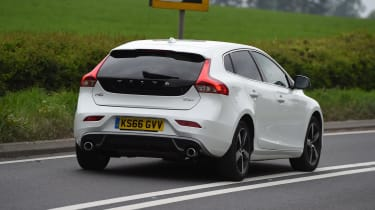 Volvo V40 long-term test review - rear