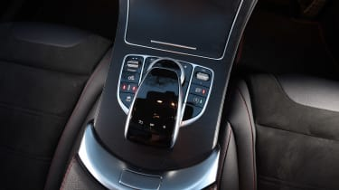 Mercedes-AMG C 43 - centre console