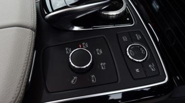 Mercedes GLS 350d AMG 2016 - centre console
