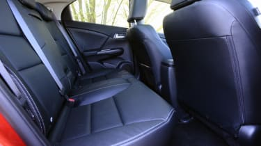 Honda Civic 2014 rear seats