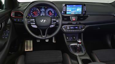 Hyundai i30 Fastback N - dash