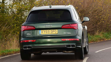 Audi Q5 PHEV long-termer - first report rear action