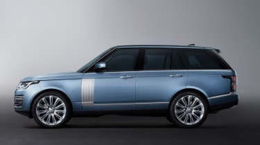 Updated Range Rover - side static