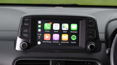 Hyundai Kona - Apple CarPlay