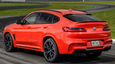 BMW X4 M Competition - rear 3/4 static