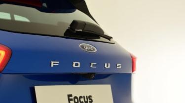 New Ford Focus studio - rear badge