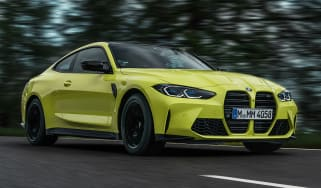 BMW M4 Competition – front quarter