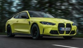 BMW M4 Competition – front quarter
