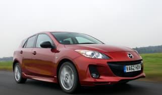 Mazda 3 front tracking