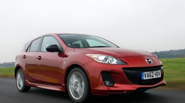 Mazda 3 front tracking